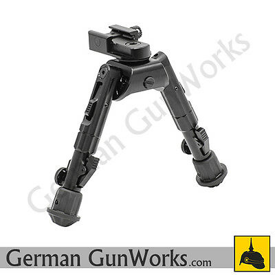 UTG Leapers Recon 360 Vollmetall Zweibein Bipod H 14,2 - 17,8cm TL-BP02