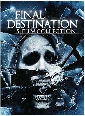 5 Film Collection: Final Destination (2015, DVD NEW)