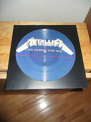 """METALLICA """"...An Album For All"""" LP OLD WORKS RECORD - PICTURE"""