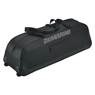 DeMarini Uprising Wheeled Bat Bag, Black