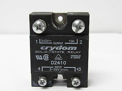 Crydom Solid-State Relay D2410, 10A , 240V