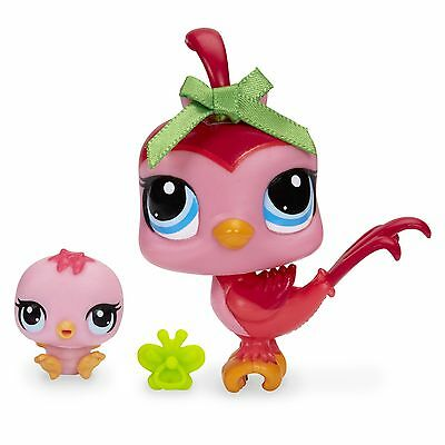 Littlest Pet Shop #3603 Bird and #3604 Baby Bird Pets