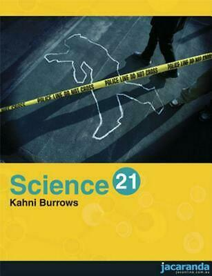 Science 21 by Roy Burrows Paperback Book Free Shipping!