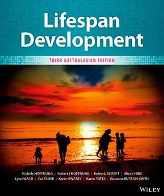 Lifespan Development Australasian Edition 3rd Edition by Michele Hoffnung Paperb