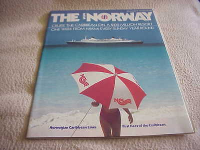 Norwegian Cruise Line - First Published  SS NORWAY Brochure