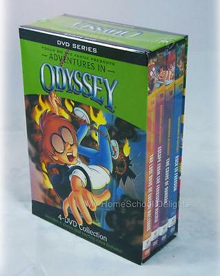 NEW Adventures in Odyssey 4 DVD Collection Series + Bonus Audio Boxed Gift Set