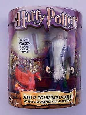 HARRY POTTER Albus Dumbledore Magical Minis Collection MIB & Unopened Series II