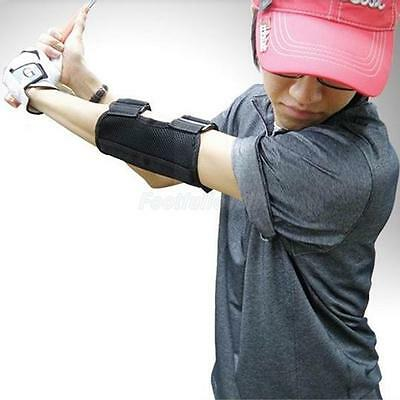 Golf Swing Training Aid Arm Band Elbow Balance Arc Support Practice Trainer