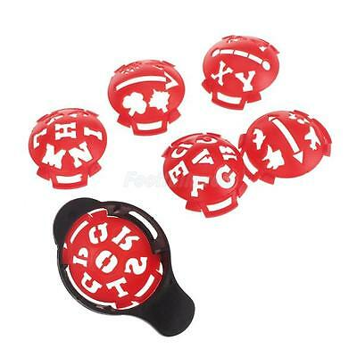 Assorted Golf Ball Line Liner Marker Drawing Alignment Template Monogrammer