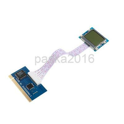 Motherboard Tester Mini PCI PCI-E LPC POST Troubleshooting Diagnosis Card