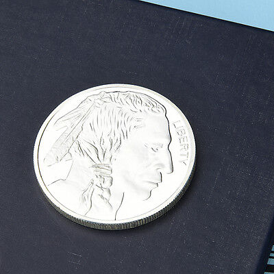 Liberty One Troy Ounce Silver Color Round Coins Coin Buffalo/Indian Human Head