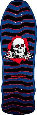 Powell Peralta Geegah Ripper 9.75 x 30 Blue Skateboard Deck