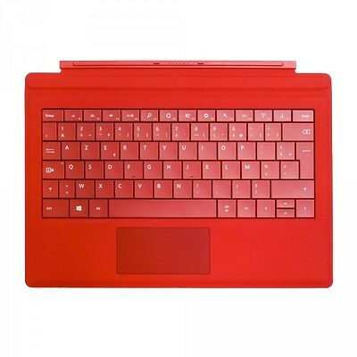Microsoft - RF2-00020 - Clavier Type Cover 3 pour Surface Pro - Rouge
