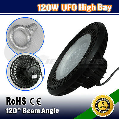 120W Led High Low Bay Work Light Warehouse Industrial Factory Workshop Down Lamp
