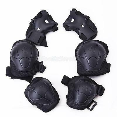 Set 6pc Kids Cycling Roller Skating Knee Elbow Wrist Guard Protective Pad
