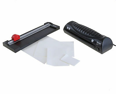 Texet Value Pack A4 A5 A6 Hot Laminator + Paper Trimmer Guillotine + 50 Pouches