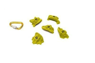 ETCH Euro Limestone Set B Climbing Hold, Yellow