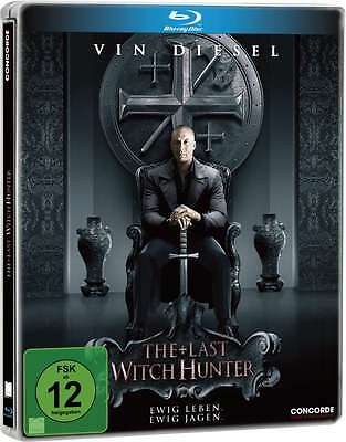 Blu-ray * THE LAST WITCH HUNTER - VIN DIESEL - LIMITED STEELBOOK # NEU OVP $