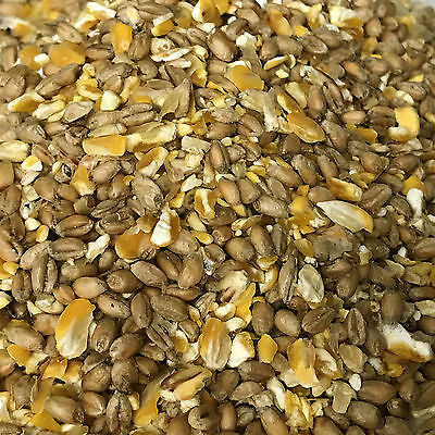 20Kg Deluxe Mixed Poultry Corn Extra with 60% Split Maize and 40% Whole Wheat