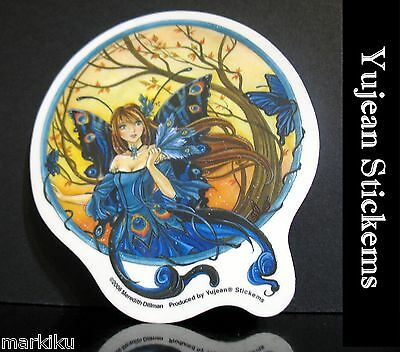 Yujean Stickems sticker Peacock Fairy butterfly Wings  Meredith Dillman AD757
