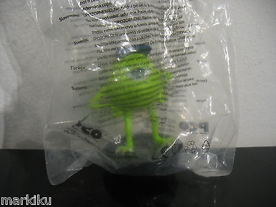 Sealed Snapco Monsters Inc Mike Wazowski Theater Movie Drink Cup Topper promo