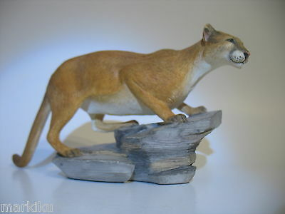 New Very Rare HTF Country Artists CA04317 Mountain Lion figurine 045544167147