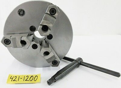 "SAVON 8"" 3 Jaw Manual Lathe Chuck A1-5 Spindle Mounting"