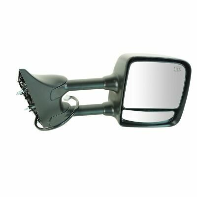 Side Mirror Power Heated Memory Chrome Towing Passenger Right for 04-15 Titan