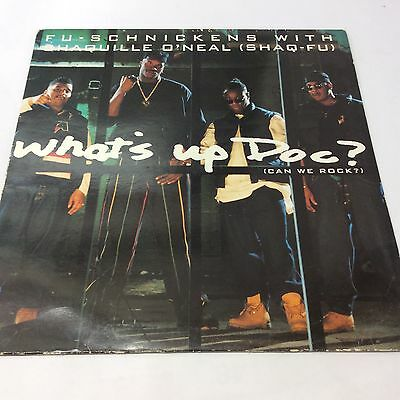Fu-Schnickens & Shaquille O'Neal 'What's Up Doc?' VG/VG Tribe Called Quest LP 12