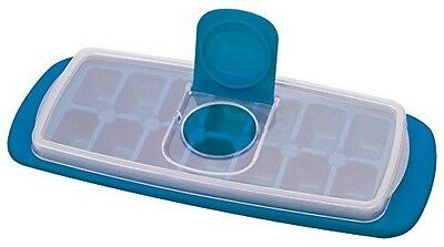 MSC International Joie No Spill Covered Ice Cube Tray with Lid, BPA-Free Plastic