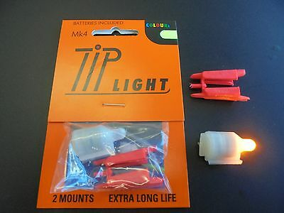 mk 4 tip lights for fishing rods x1 yellow