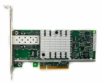 Intel X520-DA1 E10G41BTDA G1P5 10Gb 10 Gbe 10 gigabit Network Adapter