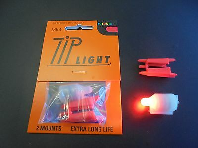 mk 4 tip lights for fishing rods x1RED