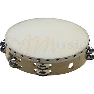 "Stagg 10"" Tambourine Double Jingles"