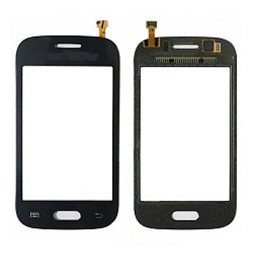 New Samsung Galaxy Young S6310 Touch Screen Front Digitizer Adhesive Blue White