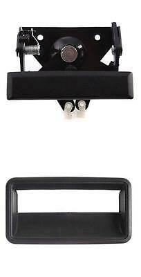 Metal Tailgate Latch Handle With Bezel Chevy Gmc Truck 1988-1998 Black