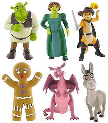 Bullyland Comansi Official Shrek Toy Figure Cake Topper Toppers