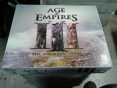 1x  Age of Empires III: The Age of Discovery: 2007 Edition Used Board Games
