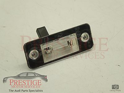 Audi A8 D3 OS Right Rear Number Plate Light Brand New Genuine 4E0943022