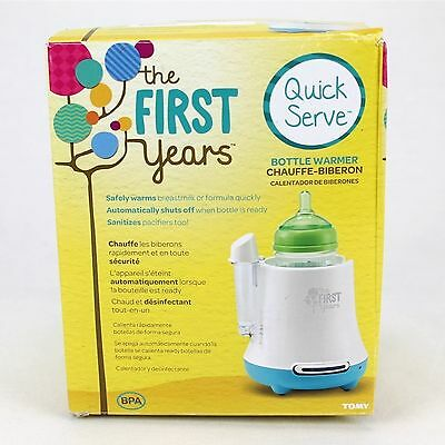 Bottle Warmer Quick Serve The First Years USED