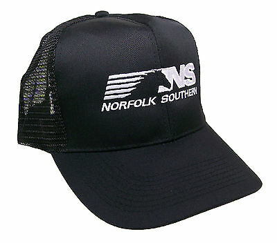 Norfolk Southern Railroad Embroidered Mesh Cap Hat #40-0068BM