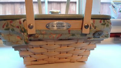 Longaberger 2006 Woven Memories Basket Combo with plastic liner and lid