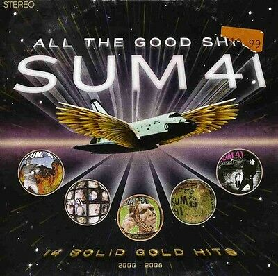 Sum 41 - All the Good Shit: 14 Solid Gold Hits [New CD] Canada - Import