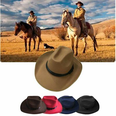 Adjustable Rope Male Female Western Style Caps New Cowboy Cowgirl Hats