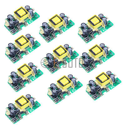10pcs AC-DC 5V 0.7A Switching Power Supply Module for Replace/Repair 5V 700MA