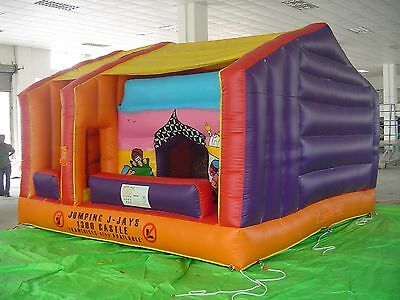 MASSIVE JUMPING CASTLE SALE 5mx5.5m Arabian Nights Moving Mouth**Commercial USED