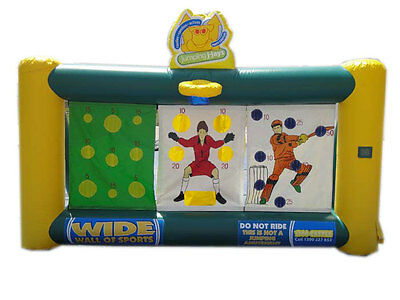 MASSIVE JUMPING CASTLE SALE - 4mx2m WIDE WALL OF SPORTS ** Activity** USED
