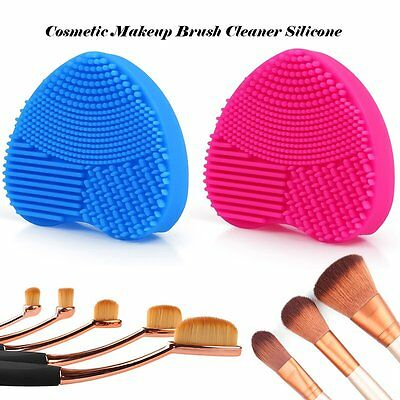 Cleaning Cosmetic Makeup Brush Clean Foundation Brush Silicone Cleaner Mat Pad