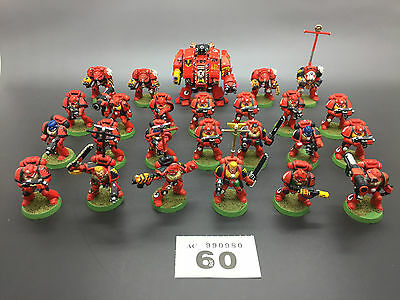 Warhammer 40,000 Space Marine Blood Angels Dreadnought Terminators Tactical