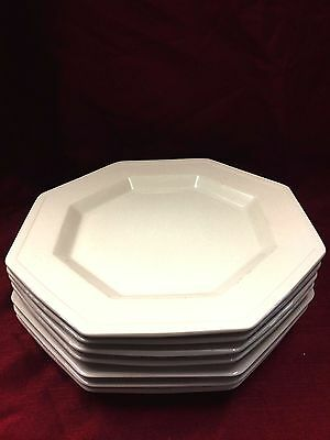 China Plate Johnson Brothers Heritage White Dinner Plates lot of  7